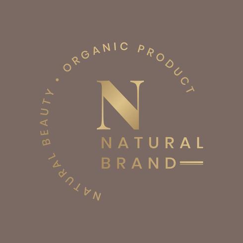 Ekologisk produktlogotyp