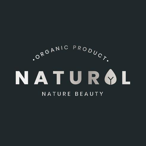 Logo de producto organico