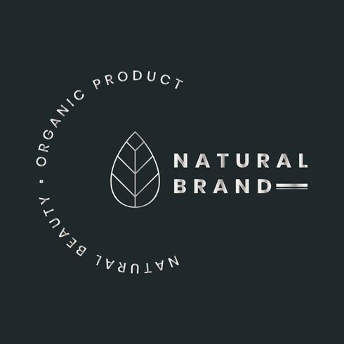Logo del prodotto biologico