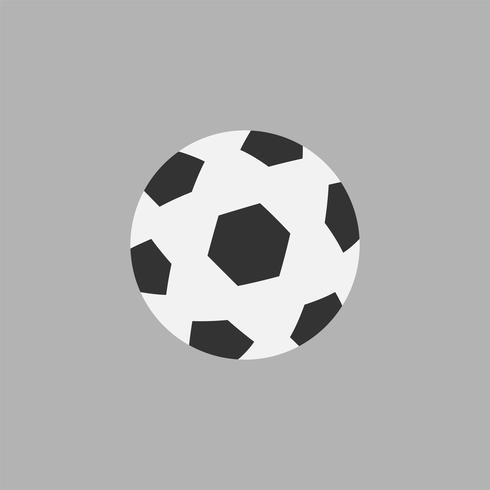 Illustrazione dell'icona della sfera di calcio
