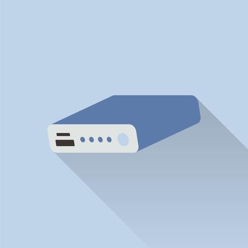Illustration av powerbank