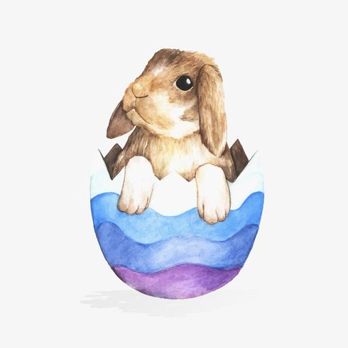Illustration of Easter festival
