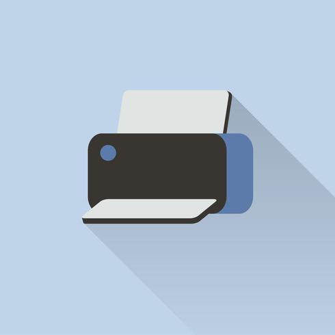 Illustration of printer
