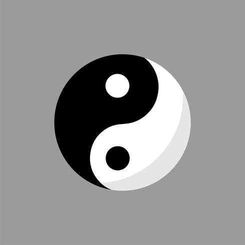 Illustration de Ying Yang