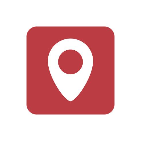 Navigation icon graphic illustration