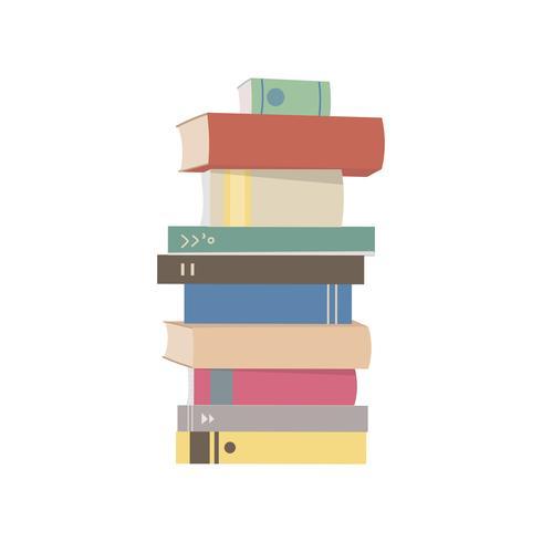 Pile Illustration Graphique De Livres Telechargez De L