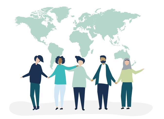 Personnages et diversité du monde