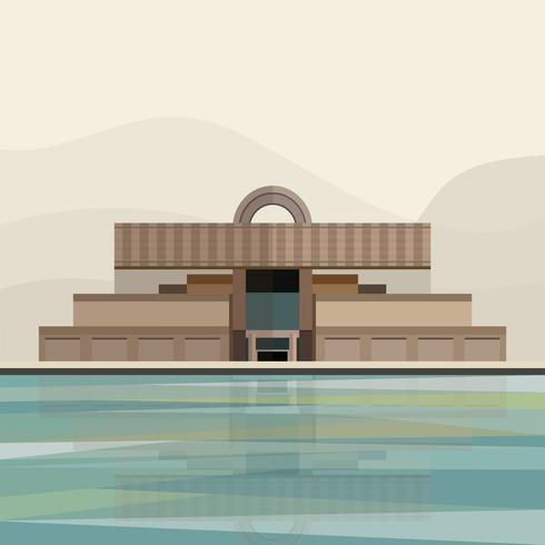 Illustrazione del Museo di Shanghai