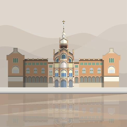 Illustratie van Hospital de Sant Pau