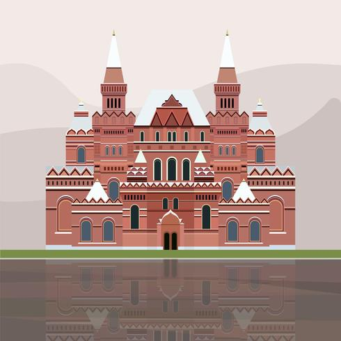 Ilustração do Museu Histórico do Estado da Rússia