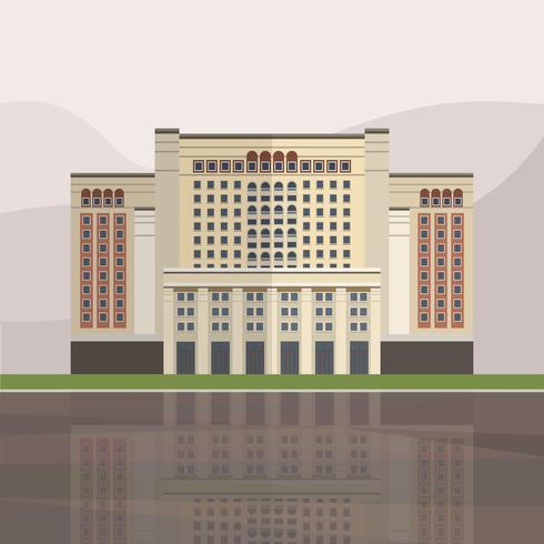 Illustration av Four Seasons Hotel Moskva
