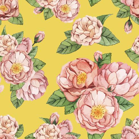 Fundo floral brilhante