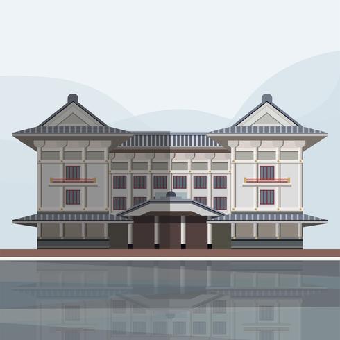 Ilustración de Kabuki-za