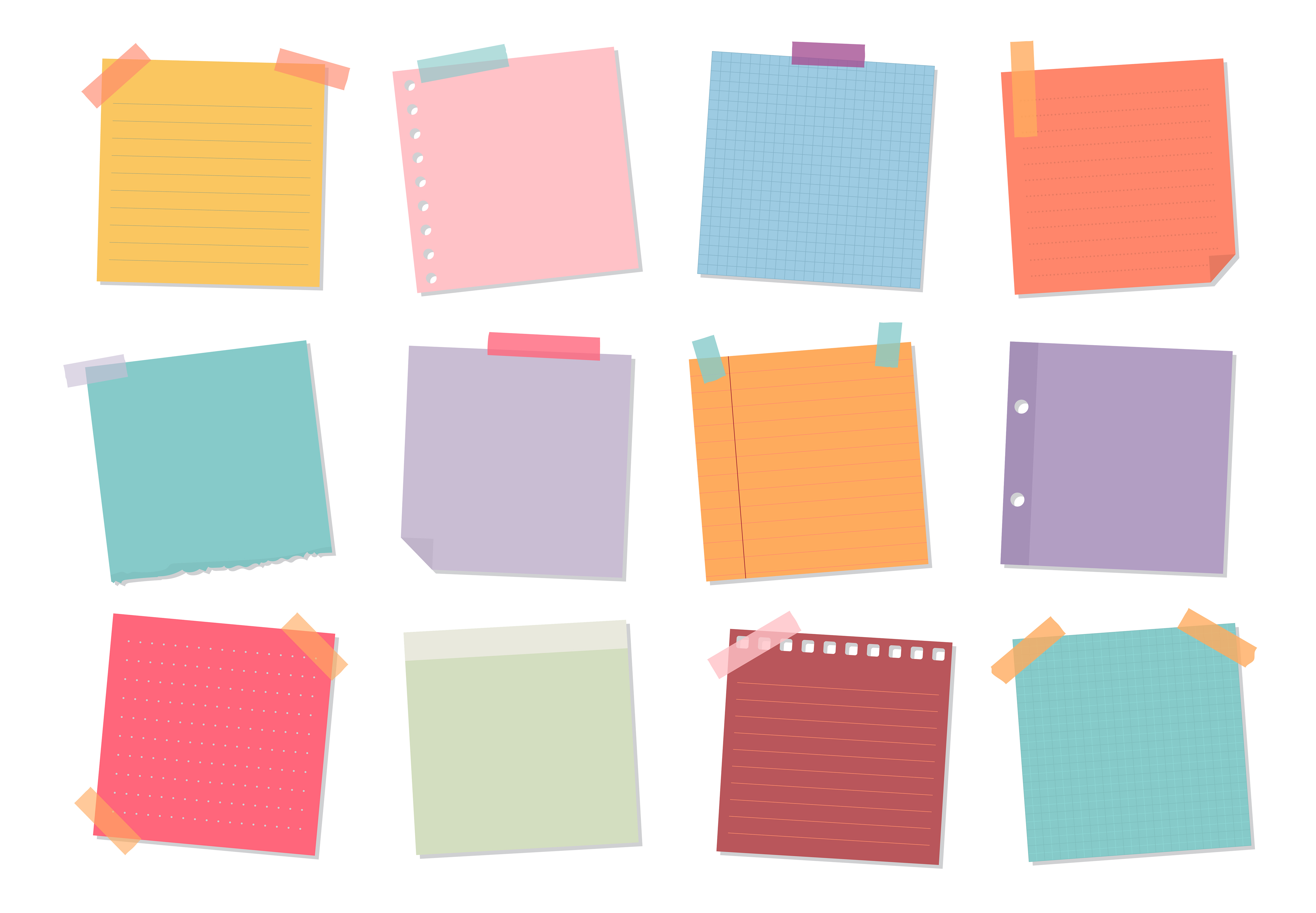 Design Your Own Sticky Note Cube (Personalized ...   Sticky Note Design