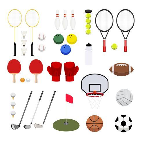 Verzameling van verschillende sport pictogram illustratie