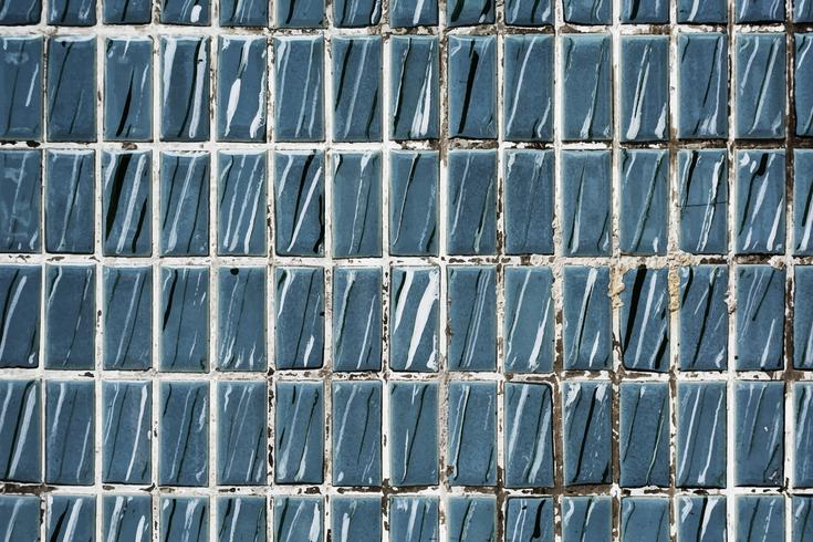 Azulejos teñidos con textura papel pintado