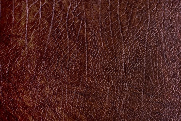 Fondo de textura de cuero en bruto marrón