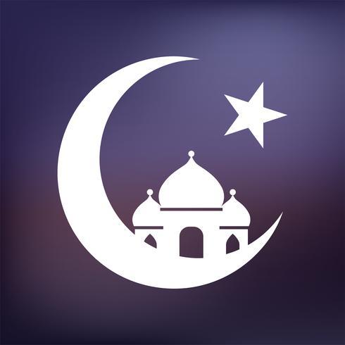 Abbildung einer islamischen Moschee