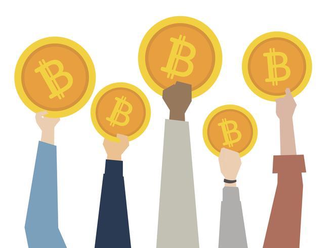 Bitcoins en digitale valuta