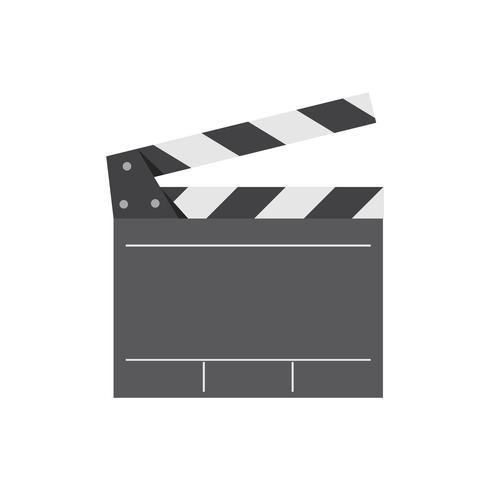 Filmregisseur clapperboard-Grafikillustration