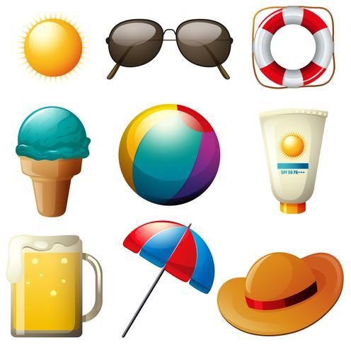 Beachwares set con drink e oggetti