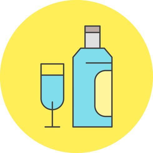 Vektor-Glas-Symbol