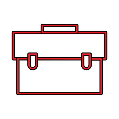 Breifcase Perfect Icon Vector o Pigtogram Illustration In Filled Style
