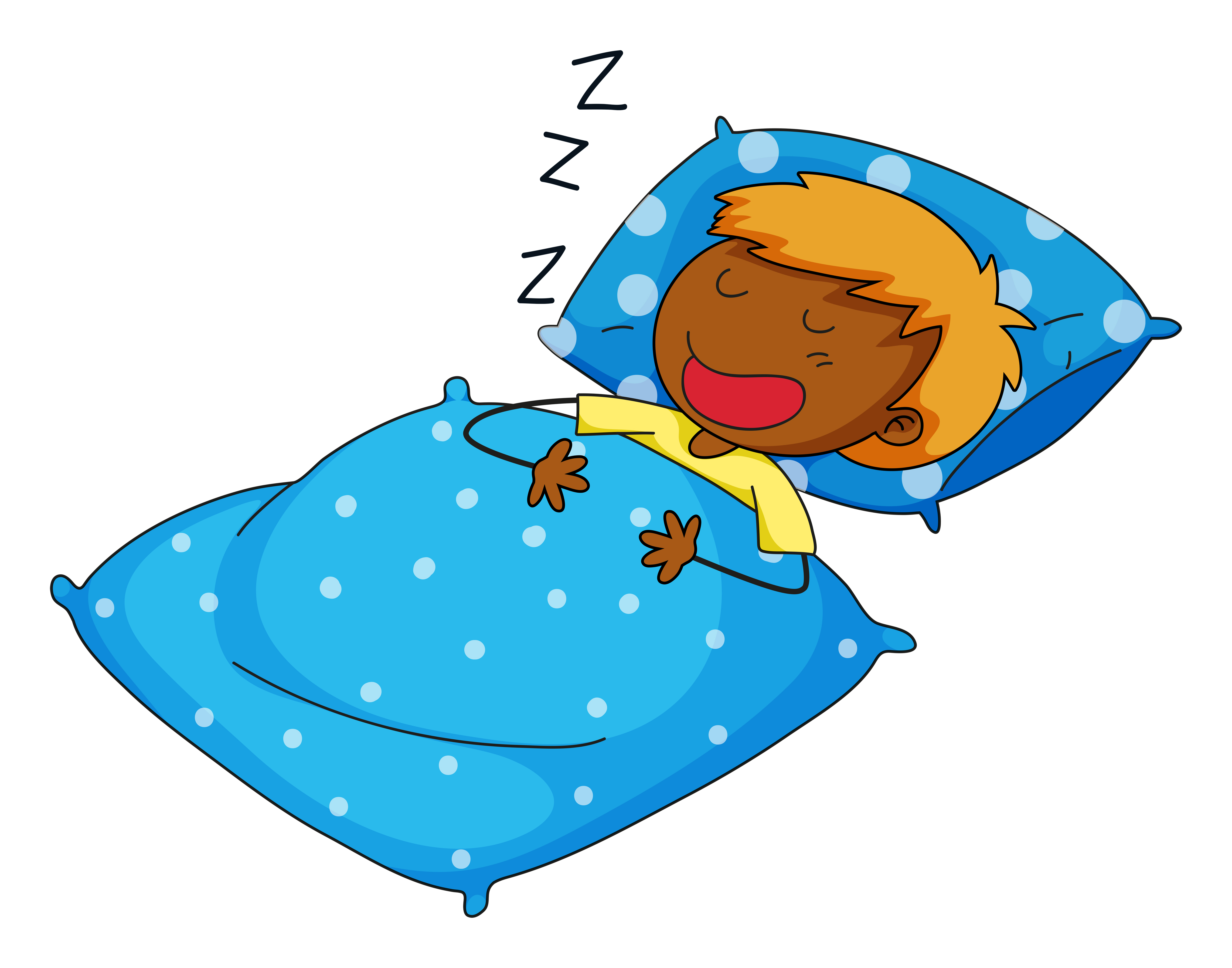 Boy sleeping - Download Free Vectors, Clipart Graphics