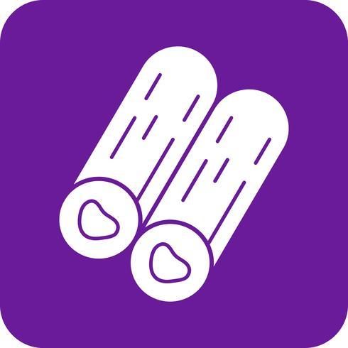 Vektor-Holz-Symbol