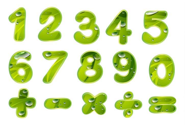 Zahlen und Zeichen