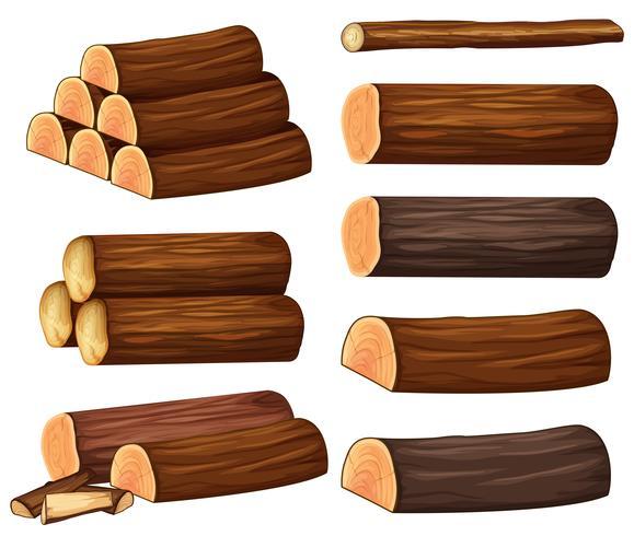 Diversi tipi di legno