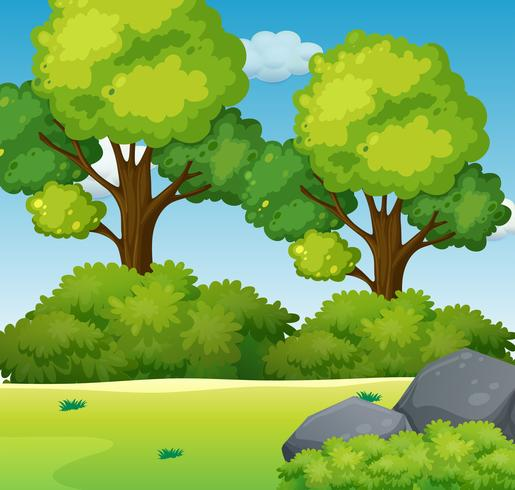 A green nature background Vector - Download Free Vector Art