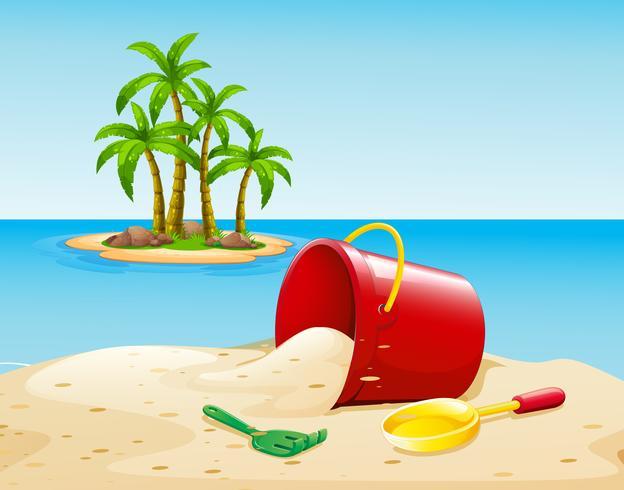 Strand en oceaan