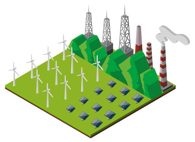 3D-Design für Kraftwerk