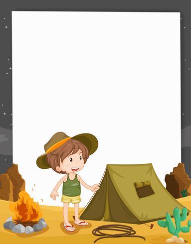 Camping enfant