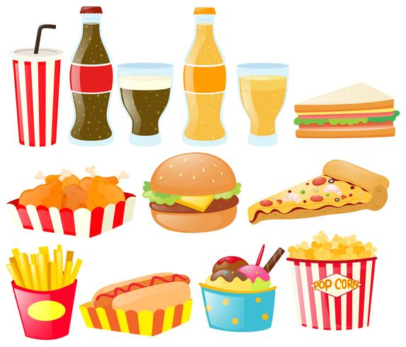 food different drink types fastfood vector clipart illustration vocabulary selfish thoughtful word english graphics quizizz keywords related resources vecteezy pizza