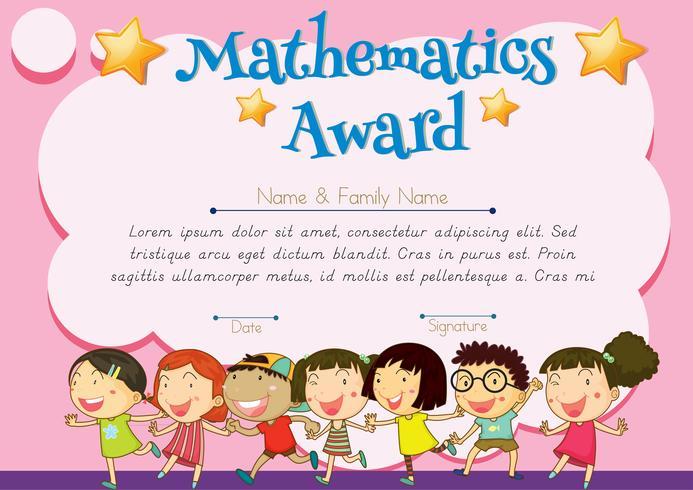 Auszeichnung für Mathematik