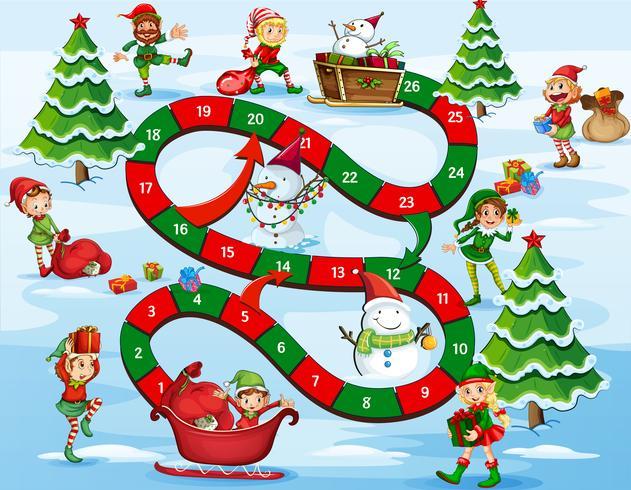 Jeu de société de Noël