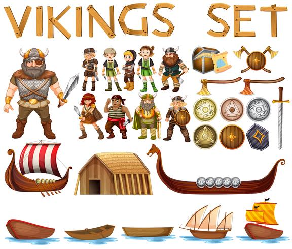 vikings vektor