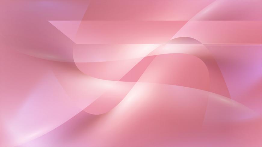 Sfondo astratto liscio rosa, illustrazione vettoriale
