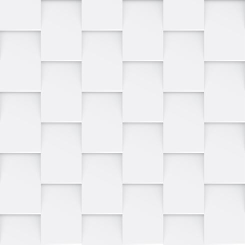 Fundo geométrico abstrato sem costura branco