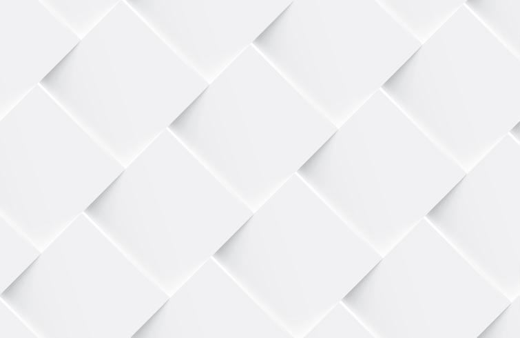 Weißer nahtloser abstrakter geometrischer Hintergrund