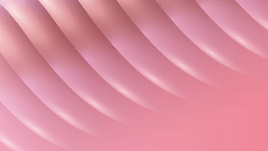 Pink smooth abstract background, vector illustration