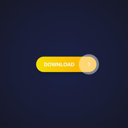 Colorful shiny and clean button for websites and online usage, vector illustration