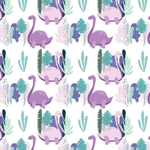 Dinosaurus naadloze patroon