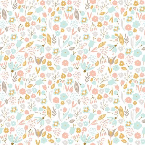 Nice floral seamless pattern