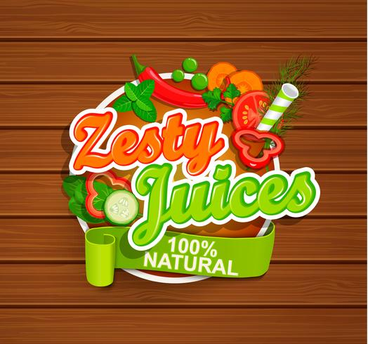 Zesty Juices symbol.