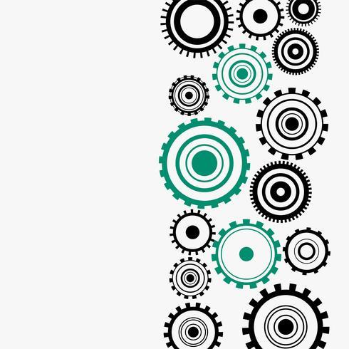 diagramme de roues dentées sur fond blanc