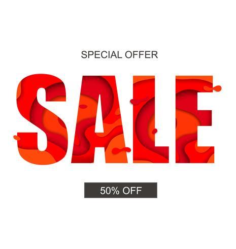 Banner de venda com oferta especial