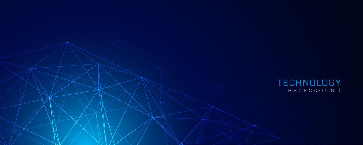 abstrakt blå nätverk trådnät teknik bakgrund